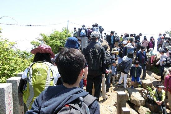 Mount Tsukuba: 女体山山頂