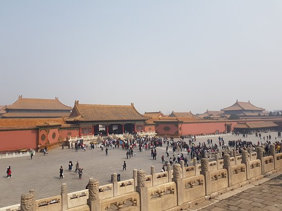 Hall of Preserving Harmony (Baohedian): View from behind the Hall of Preserving Harmony