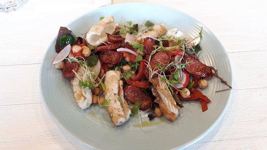 Whangaparaoa, Nya Zeeland: Calamari Salad