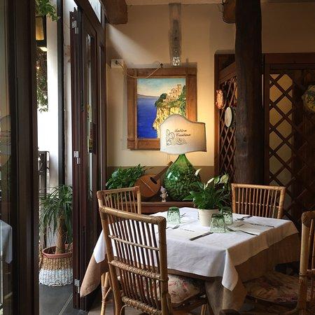 Osteria Arcadia: Mysig restaurang med god mat och trevliga servitörer. Bra priser.