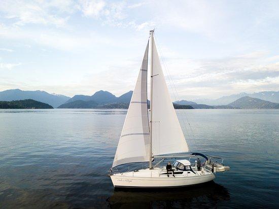 Gibsons, Kanada: Sailing in Howe Sound