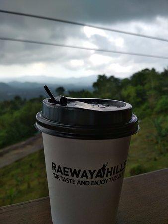Airmadidi, إندونيسيا: segelas kopi dari  raewaya hils