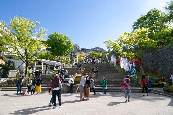 Ikaho Stone Steps: 階段登り口