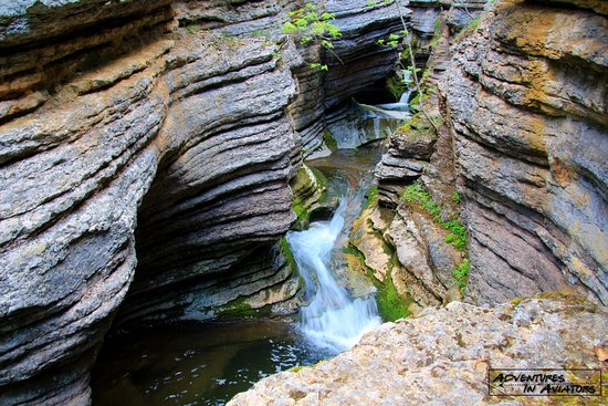 Serbia: Beautiful mini slot canyon