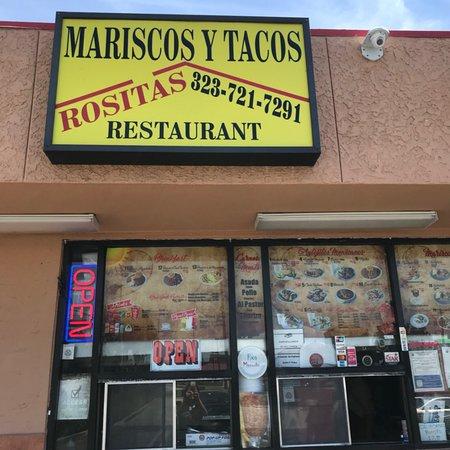 Монтебелло, Калифорния: Tacos Y Mariscos Rosita