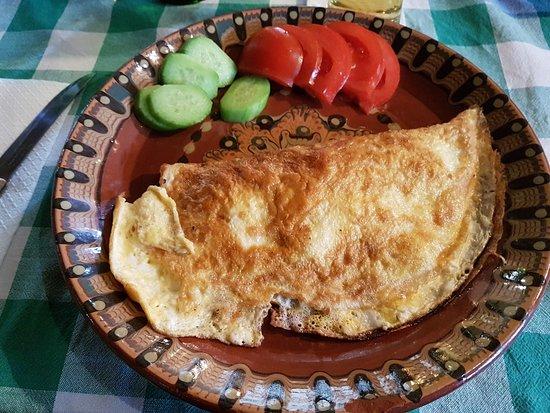 Kovachevitsa, Βουλγαρία: Omelette.
