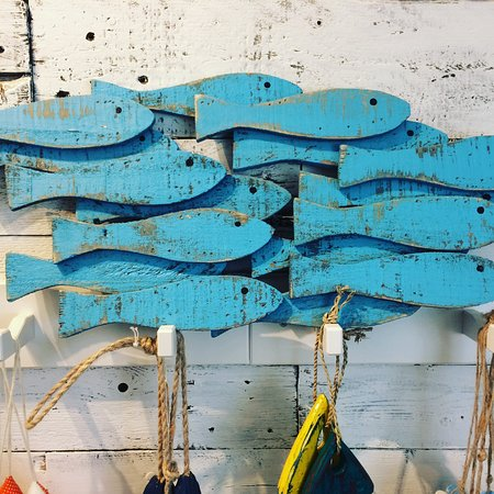 School o fish, wall art - Picture of Happy Sardine atelier & store ...