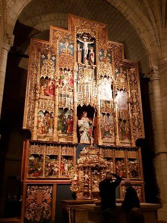 Uncastillo, España: retablo