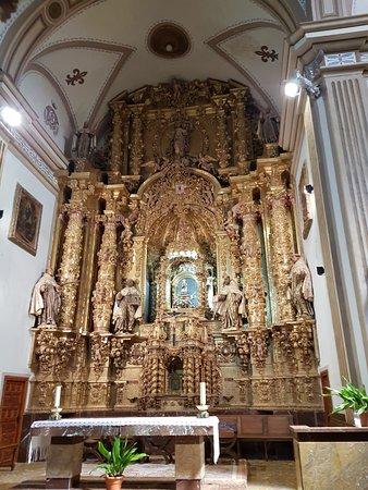 Uncastillo, Spain: retablo