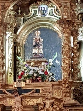 Uncastillo, Spain: virgen