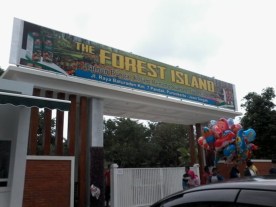 ‪‪Purwokerto‬, إندونيسيا: Gerbang masuk & tiket The Forest Island‬