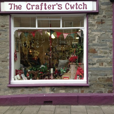 Cardigan, UK: Lovely handmade items made by over 60 different crafters and artists, well worth a visit