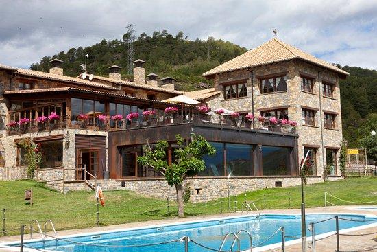 Labuerda, إسبانيا: Vistas Principal del restaurante