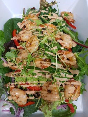 Boddington, Australia: Prawn salad