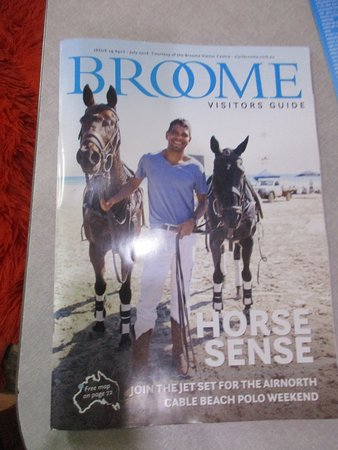 The Roey: Broome brochure with dates
