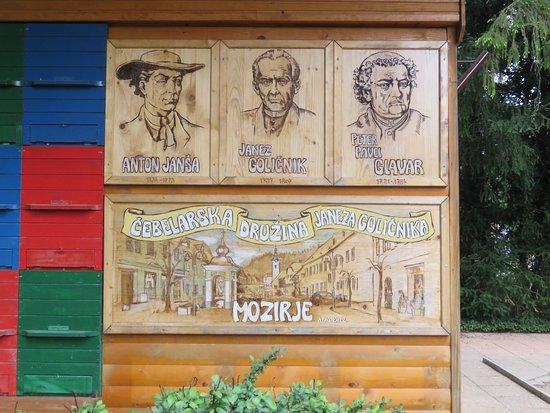 Mozirje, Словения: Important apiarists