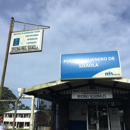 Almirante, Παναμάς: Border