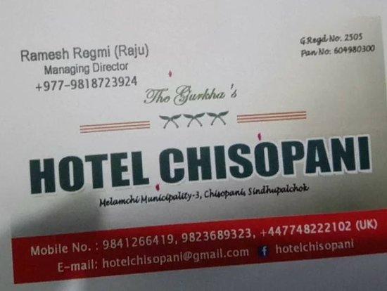 Chisapani Foto