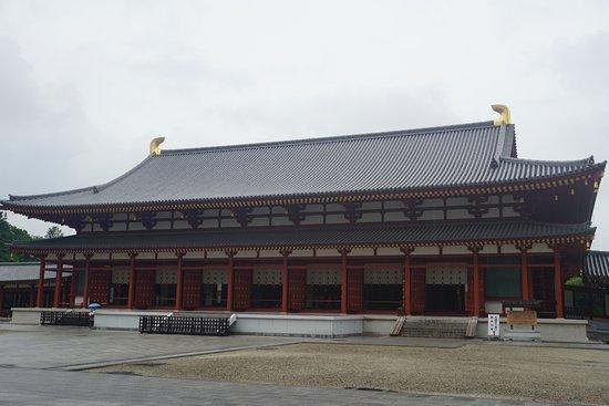 Yakushi-ji Temple: 藥師寺大殿