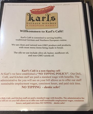 Karl S Cafe Picture Of Karl S Sausage Kitchen Peabody