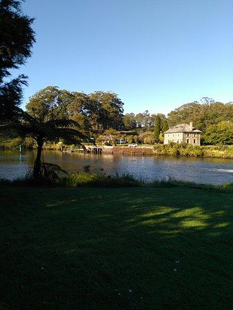 Kerikeri, Nueva Zelanda: Ausblick vom Dorf