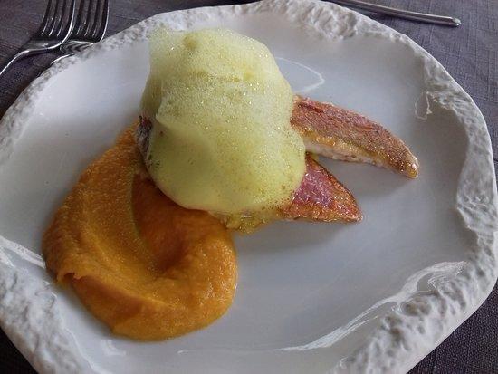 Au Pois Gourmand: Foie gras de canard mi-cuit à la myrtille