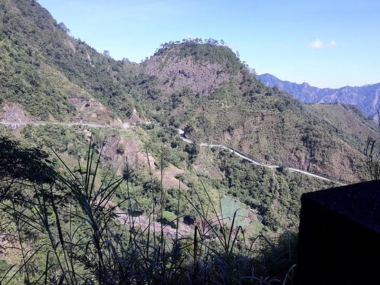 Ilocos Sur Province, Filipinas: The road going to Bessang Pass