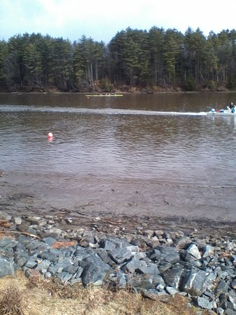 Hanover, Нью-Гэмпшир: Connecticut River Rowing Course