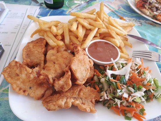 Anse Lazio, Σεϋχέλλες: Buttered fish