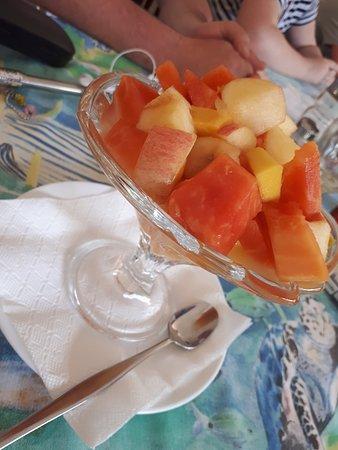 Anse Lazio, Σεϋχέλλες: Salad fruit