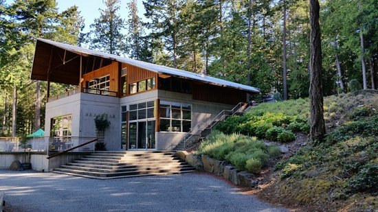Winery building on Pender Island