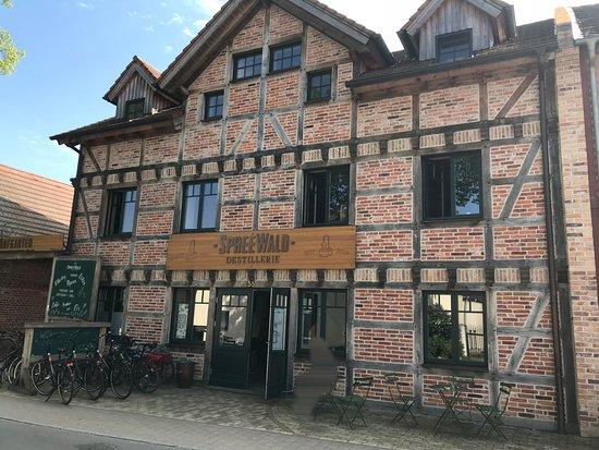 Spreewood Distillers in Schlepzig