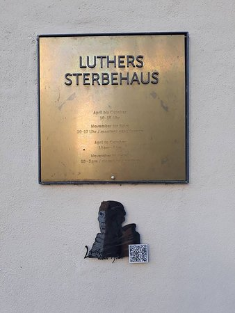 luther sterbehaus museum lutherstadt eisleben saksa arvostelut. Black Bedroom Furniture Sets. Home Design Ideas