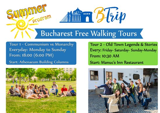 ‪BTrip Bucharest Free Walking Tour‬