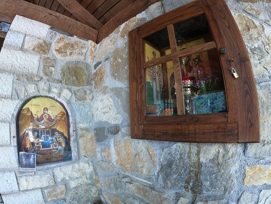 Tzoumerka, กรีซ: μονή κηπίνας