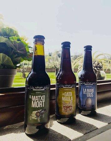Quart, Spain: Selección de cervezas de autor