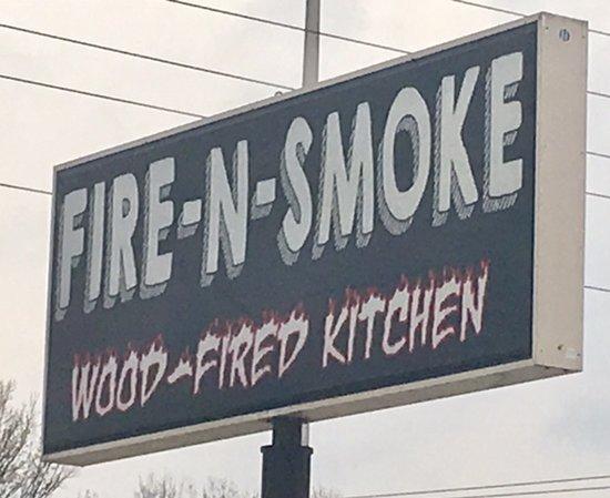 Troy, IL: Fire N Smoke sign