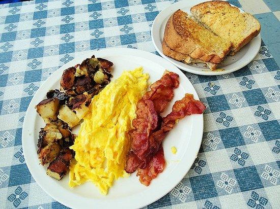 Jeffersonville, IN: scrambled eggs