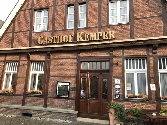 Havixbeck, Germany: Aussenansicht des Gasthofes