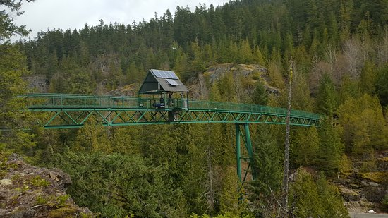 Whistler Bungee: Bungee Bridge