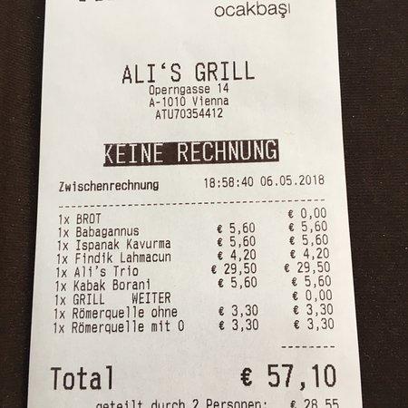 Bilde fra Ali`s Grill