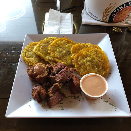 Juana Diaz, Porto Rico: Portion this time a little off, with the meat. But it was really good