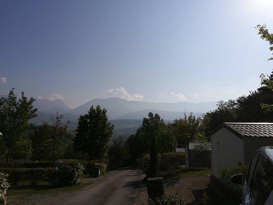 Bourdeaux, ฝรั่งเศส: Vue camping