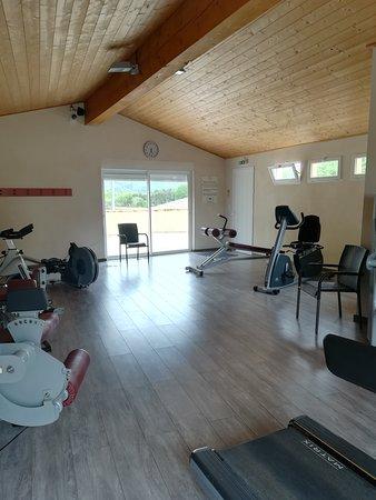 Bourdeaux, Γαλλία: Salle de sport