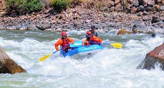 River rafting Cusipata Cusco