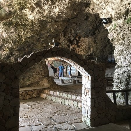 Kolymbari, Greece: Cave of St John the Hermit