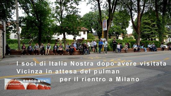Monteviale, إيطاليا: In attesa di rientrare a Milano.
