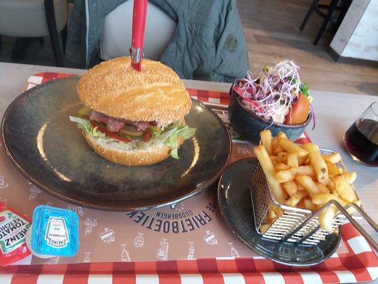 Wijshagen, België: black angus menu