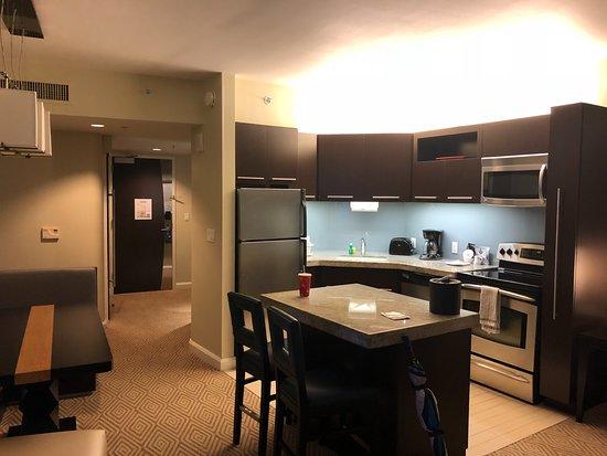 Bay Lake Tower at Disney's Contemporary Resort: 1 Bedroom Kitchen