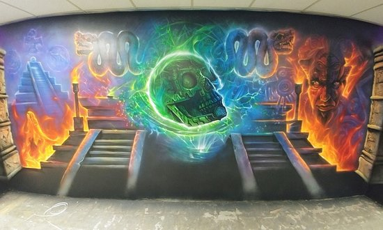 Hamilton, NJ: Some of the airbrushed work!